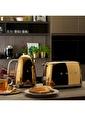 Smeg Gold Ekmek Kızartma Makinesi 2X2 Altın